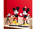 LEGO® D2C 43176 Disney Mickey and Minnie Buidable Character, Age 19+, Building Blocks, 2020 (1739pcs)
