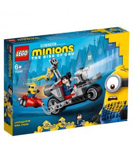 LEGO® Minions 75549 Unstoppable Bike Chase, Age 6+ Building Blocks, 2021 (506pcs)