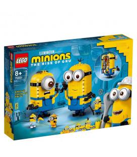 LEGO® Minions 75551 Brick-Built Minions And Their Lair, Age 8+ Building Blocks, 2021 (136pcs)