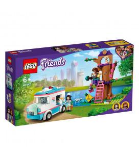 LEGO® Friends 41445 Vet Clinic Ambulance, Age 6+, Building Blocks, 2021 (304pcs)