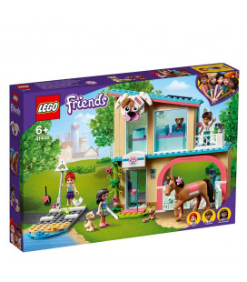 LEGO® Friends 41446 Heartlake City Vet Clinic, Age 6+ Building Blocks, 2021 (304pcs)