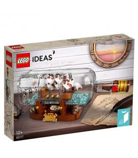 LEGO® Ideas 92177 Ship In A Bottle, Age 12+ Building Blocks, 2021 (258pcs)