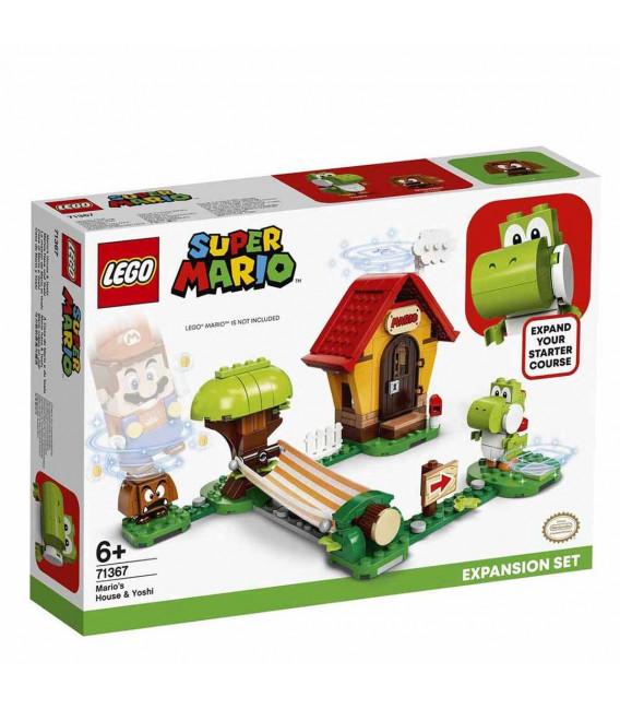 LEGO® Super Mario™ 71367 Mario's House & Yoshi Expansion Set, Age 6+, Building Blocks, 2020 (205pcs)