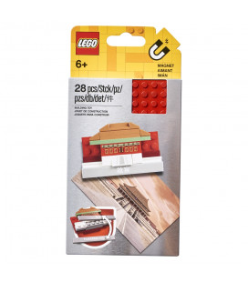 LEGO® LEL 854088 Iconic Forbidden City Magnet Build, Age 6+, Accessories, 2021 (28pcs)