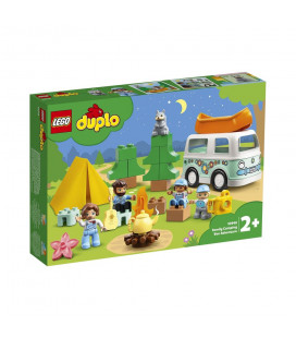 LEGO® DUPLO® 10946 Family Camping Van Adventure, Age 2+, Building Blocks, 2021 (30pcs)