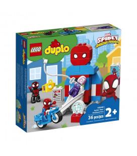 LEGO® DUPLO® 10940 Spider-Man Headquarters, Age 2+, Building Blocks, 2021 (36pcs)