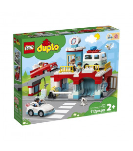 LEGO® DUPLO® 10948 Parking Garage and Car Wash, Age 2+, Building Blocks, 2021 (112pcs)