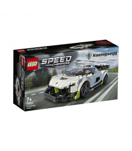 LEGO® Speed Champions 76900 Koenigsegg Jesko, Age 7+, Building Blocks, 2021 (280pcs)