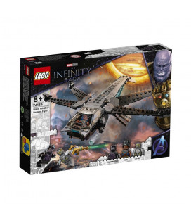LEGO® Super Heroes 76186 Black Panther Dragon Flye, Age 8+, Building Blocks, 2021 (202pcs)