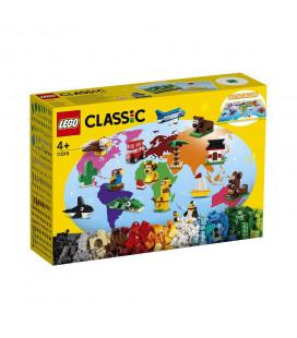 LEGO® Classic 11015 Around the World, Age 4+, Building Blocks, 2021 (950pcs)