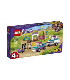 LEGO® Friends 41441 Horse Training and Trailer, Age 4+, Building Blocks, 2021 (148pcs)