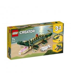 LEGO® Creator 31121 Crocodile, Age 7+, Building Blocks, 2021 (454pcs)