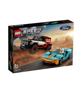 LEGO® Speed Champions 76905 Ford GT Heritage Edition and Bronco R, Age 8+, Building Blocks, 2021 (660pcs)