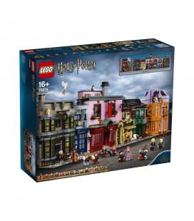 LEGO® D2C Harry Potter™ 75978 Diagon Alley™, Age 16+, Building Blocks, 2021 (5544pcs)