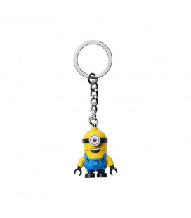 LEGO® LEL 854071 Minions Stuart Key Chain, Age 6+, Accessories, 2021 (1pc)