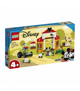 LEGO® Mickey and Friends 10775 Mickey Mouse & Donald Duck's Farm, Age 4+, Building Blocks, 2021 (118pcs)