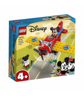 LEGO® Mickey and Friends 10772 Mickey Mouse's Propeller Plane, Age 4+, Building Blocks, 2021 (59pcs)