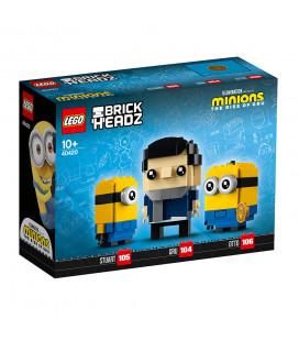 LEGO® LEL BrickHeadz 40420 Gru, Stuart and Otto, Age 10+, Building Blocks, 2021 (244pcs)
