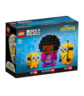 LEGO® LEL BrickHeadz 40421 Belle Bottom, Kevin and Bob, Age 10+, Building Blocks, 2021 (309pcs)