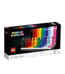 LEGO® LEL Iconic 40516 Everyone Is Awesome, Age 18+, Building Blocks, 2021 (346pcs)