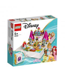 LEGO® Disney Princess 43193 Ariel, Belle, Cinderella and Tiana's Storybook Adventures, Age 5+, Building Blocks, 2021 (130pcs)