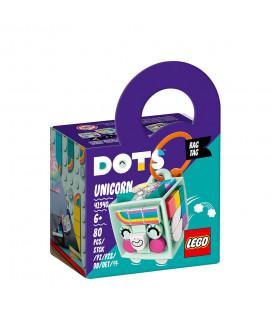 LEGO® DOTS 41940 Bag Tag Unicorn, Age 6+, Building Blocks, 2021 (80pcs)