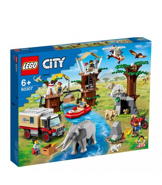LEGO® City 60307 Wildlife Rescue Camp, Age 6+, Building Blocks, 2021 (503pcs)