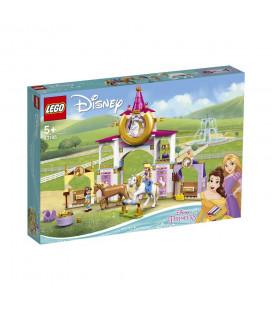 LEGO® Disney Princess 43195 Belle and Rapunzel's Royal Stables, Age 5+, Building Blocks, 2021 (239pcs)