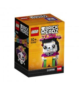 LEGO® LEL Brickheadz 40492 La Catrina, Age 10+, Building Blocks, 2021 (141pcs)
