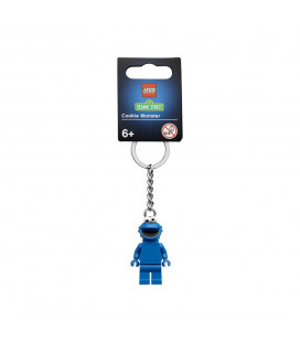 LEGO® LEL Ideas 854146 Cookie Monster Key Chain, Age 6+, Accessories, 2021 (1pc)