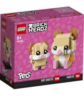 LEGO® LEL 40482 Iconic Hamster, Age 8+, Building Blocks, 2021 (243pcs)