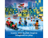 LEGO® City 60303 Advent Calendar, Age 5+, Building Blocks, 2021 (349pcs)