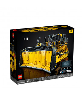 LEGO® Technic 42131 App-Controlled Cat® D11Bulldozer, Age 18+, Building Blocks, 2021 (3854pcs)